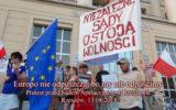 Europo nie odpuszczaj bo my nie odpuścimy Rzeszów – 13.08.2018.