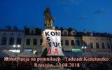 Konstytucja na pomnikach w Rzeszowie Tadeusz Kościuszko – 13.08.2018.