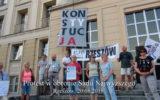 Protest w obronie Sądu Najwyższego Rzeszów 20.08.2018.