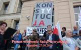 Protest w obronie Sądu Najwyższego – Rzeszów 27.08.2018.
